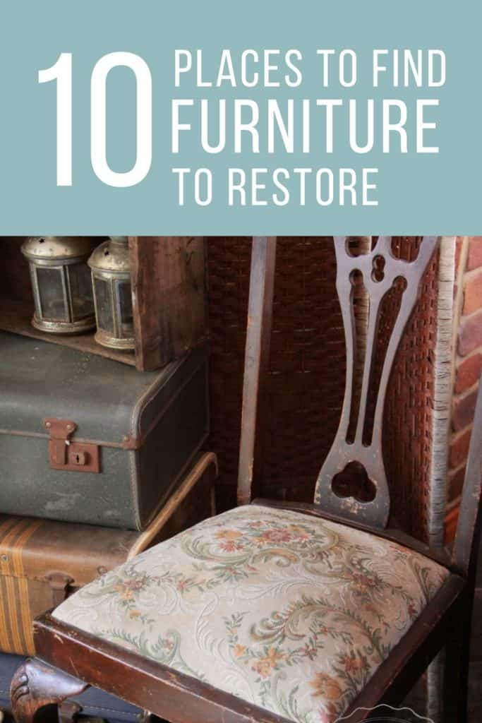 10 places to find furniture