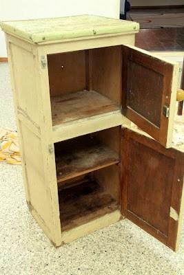 Grandpa's cupboard