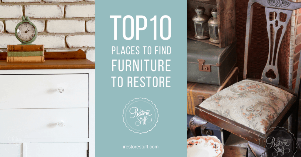 Top 10 places to find furniture