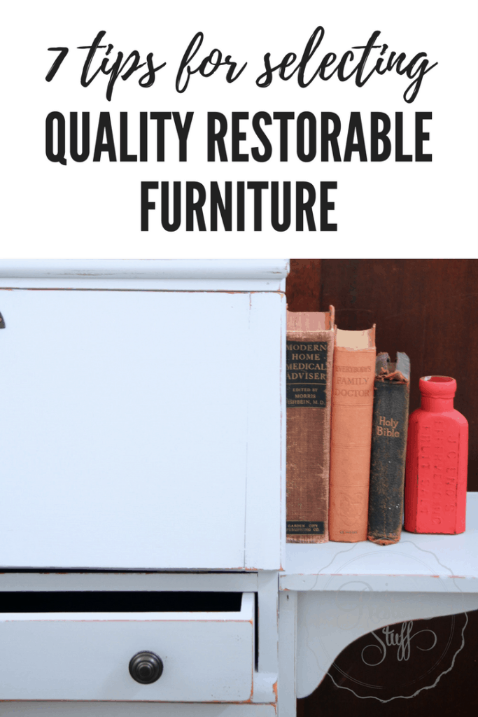restorable furniture