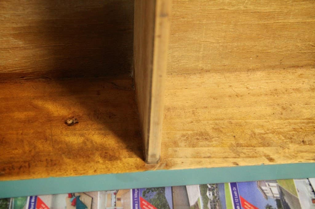 scandinavian oil drawer
