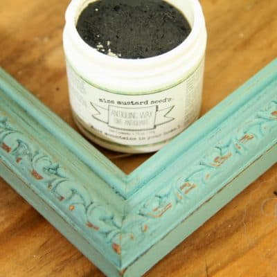 Miss Mustard Seed's Antiquing Wax – A Picture Frame Makeover