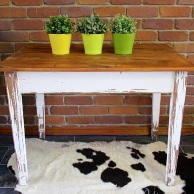 Rustic Farmhouse Table – Miss Mustard Seed's Hemp Oil Makeover