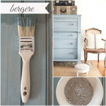 Bergere milk paint