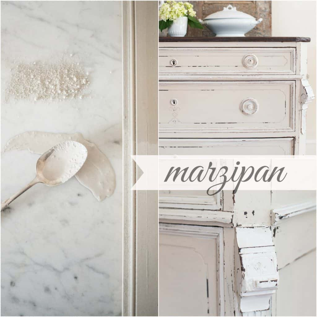 marzipan-Collage
