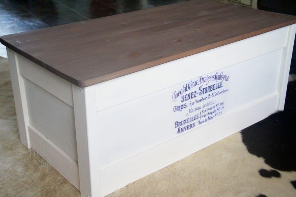 Linen Curio IKEA box 4