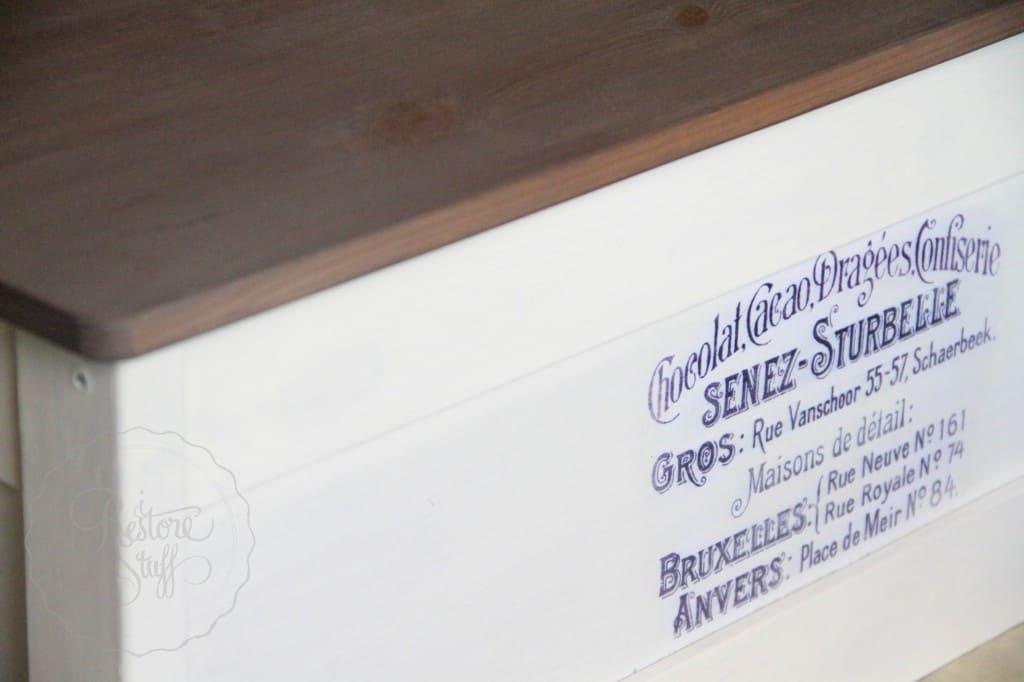 Linen Curio IKEA box 5