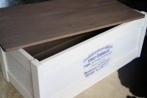 Linen Curio IKEA box 6