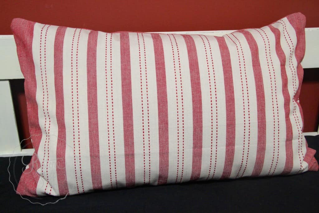 Tea towel red stripe 4