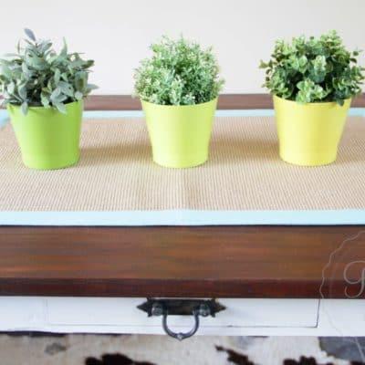 Hamptons Style Table Makeover – Miss Mustard Seed's Milk Paint, Linen
