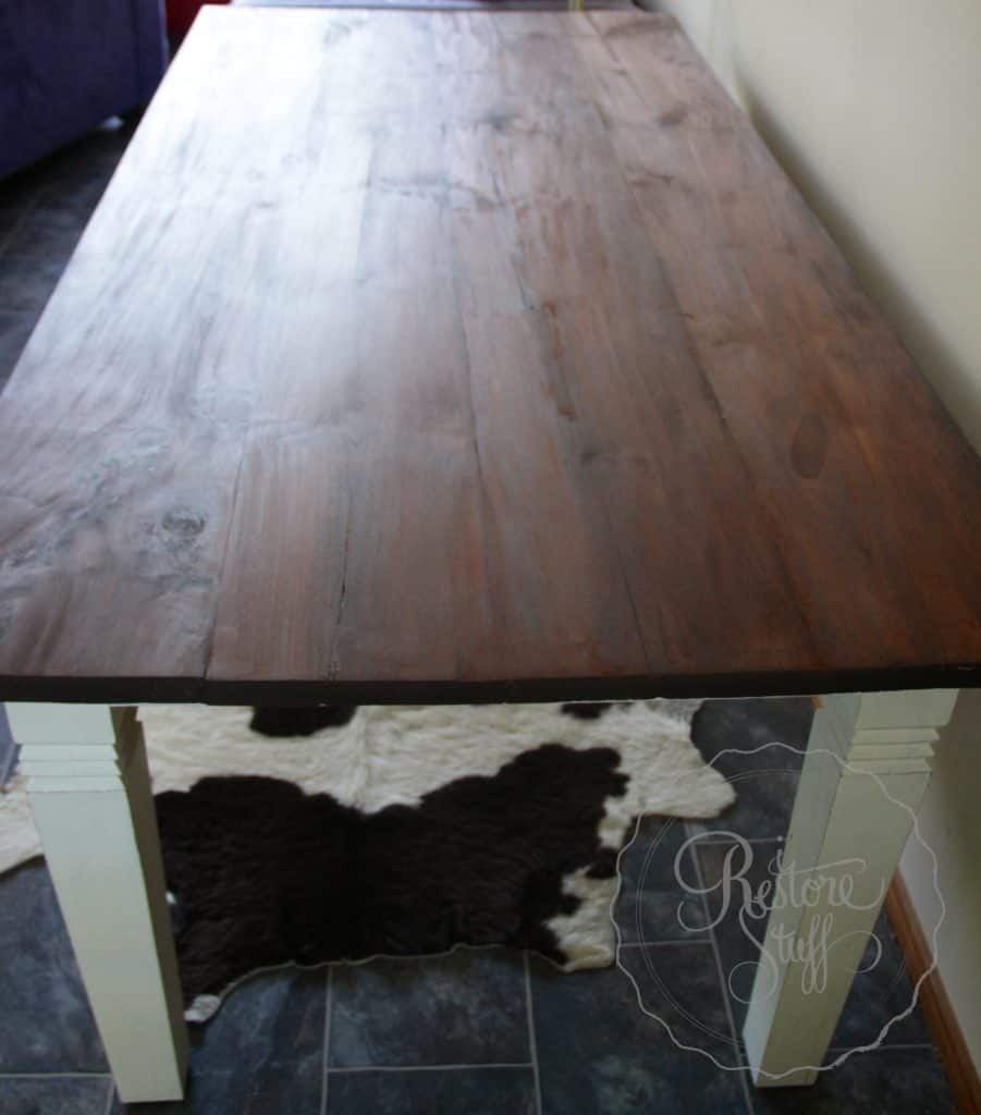 table finished 2