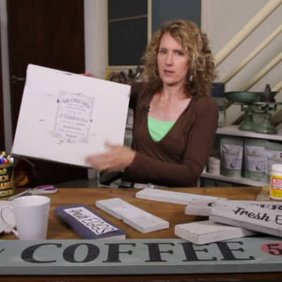 Video Tutorials – Transfer Graphics to Wood or Painted Furniture