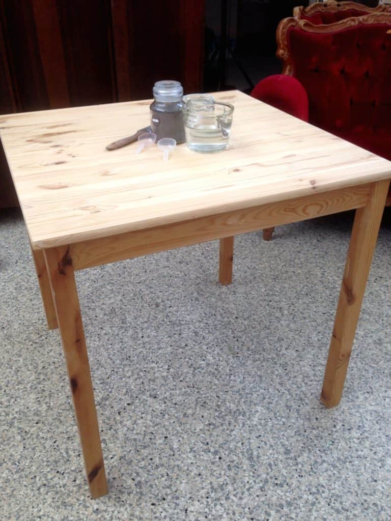 IKEA Table makeover 2