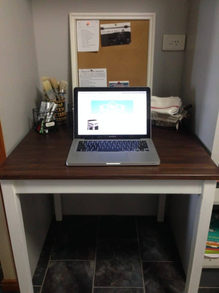IKEA Table makeover office 1