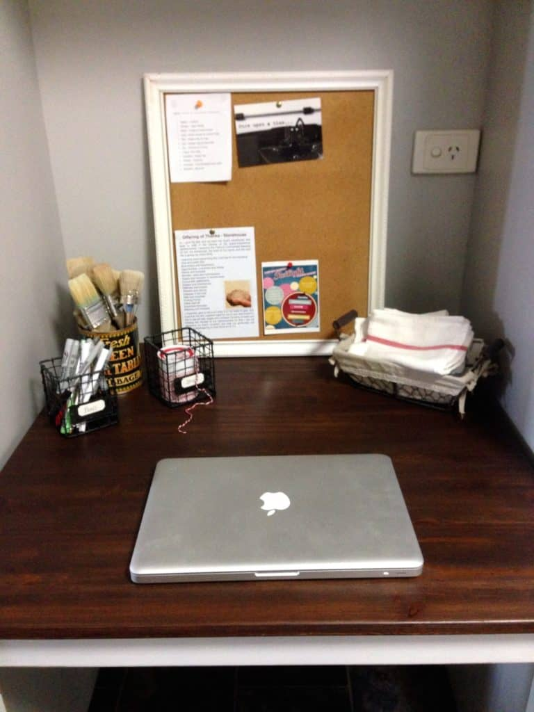 IKEA Table makeover office 2