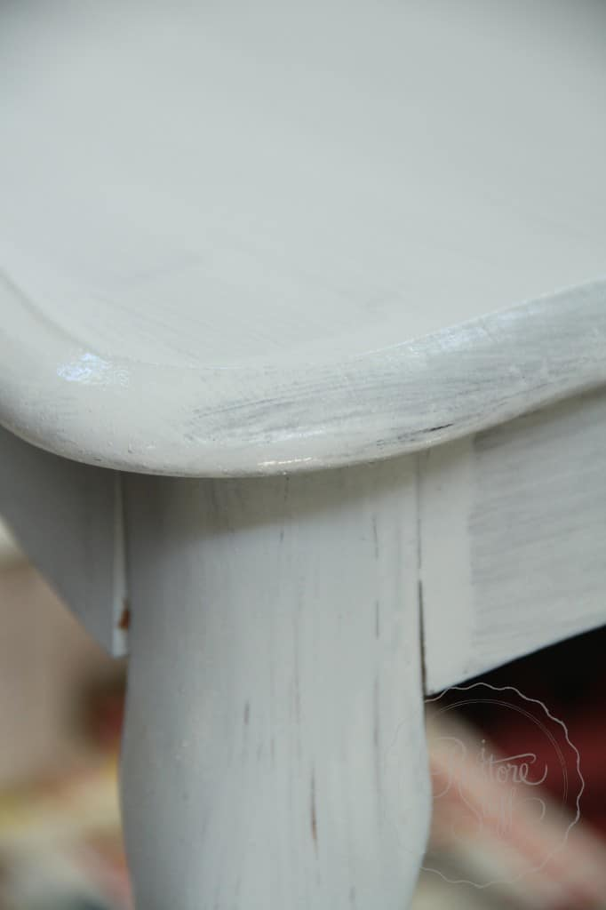 Shutter Gray stencil coffee table 7