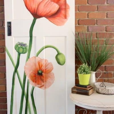 A Door, An Artist, Poppies & More