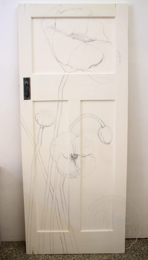 Door sketch 6