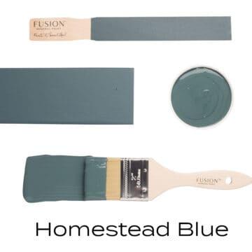 Homestead Blue flat lay