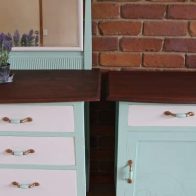 Fusion Mineral Paint Dresser Set – Refinished!