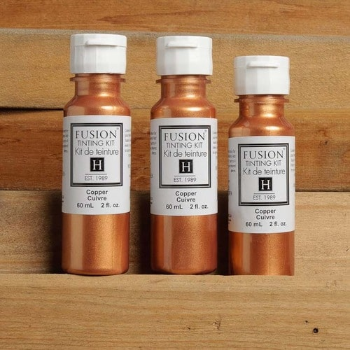 copper tinting
