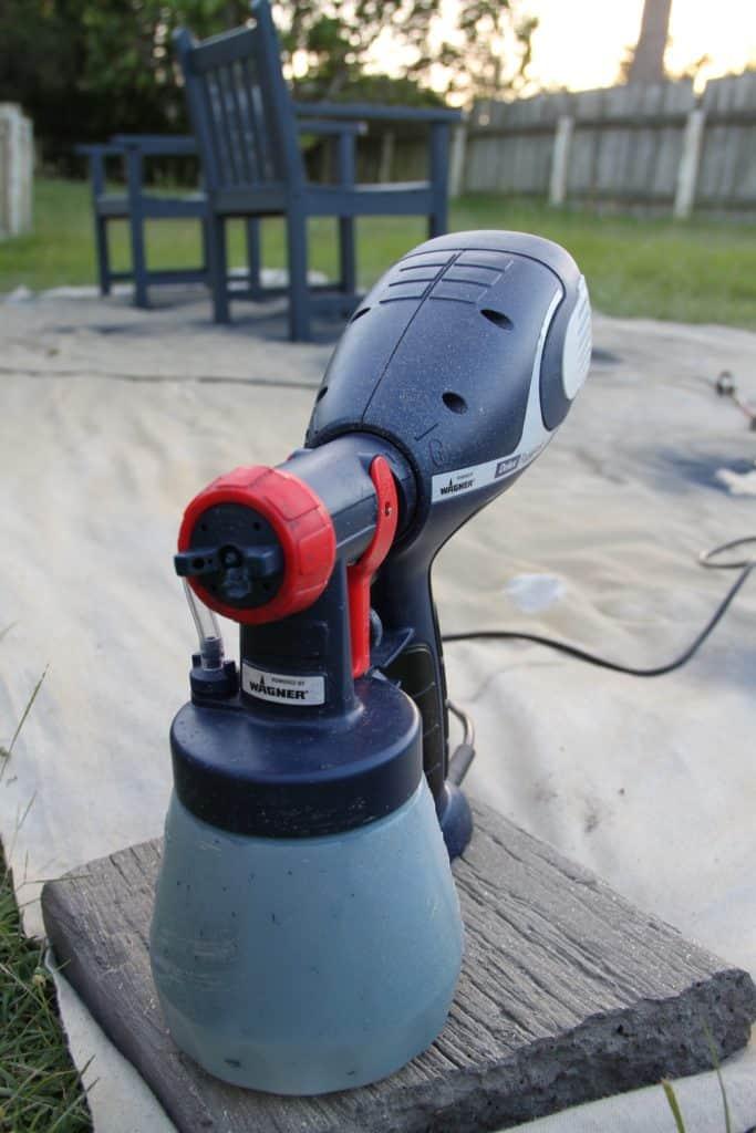 outdoor set spraying 22