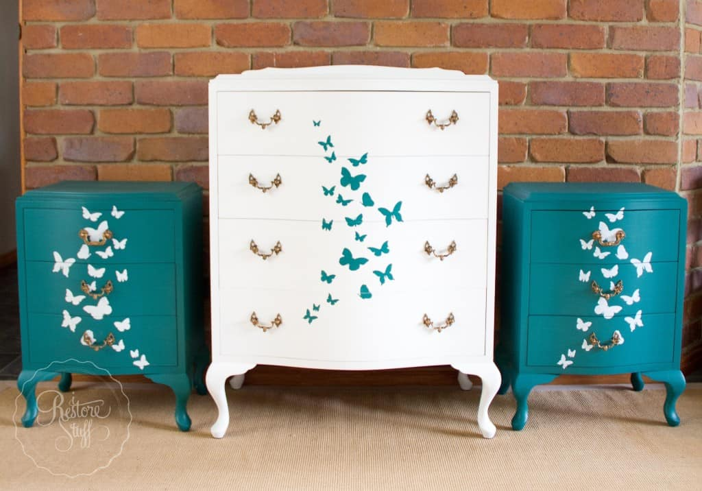 Butterfly bedroom set-0235
