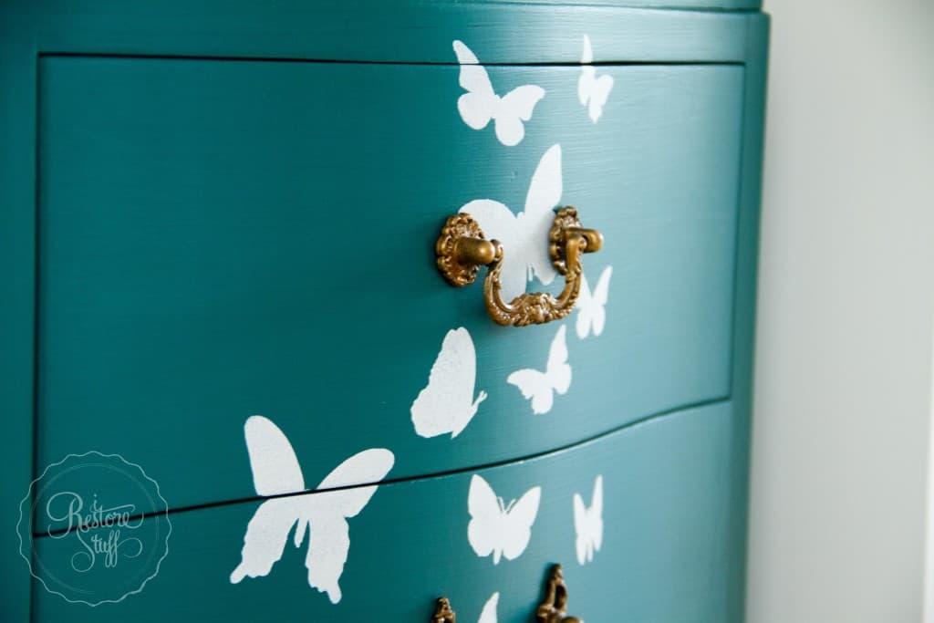 Butterfly dresser set-0243