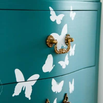 A Butterfly Bedroom Set – Fusion's Renfrew Blue