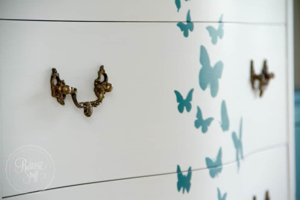 Butterfly dresser set-0244