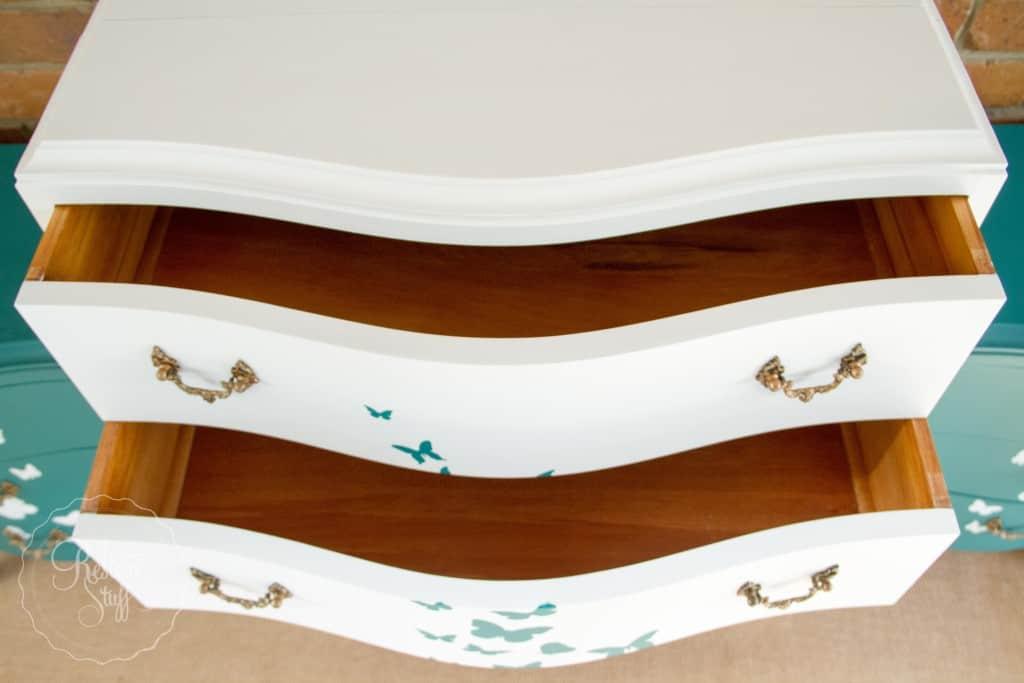 Butterfly dresser set-0246