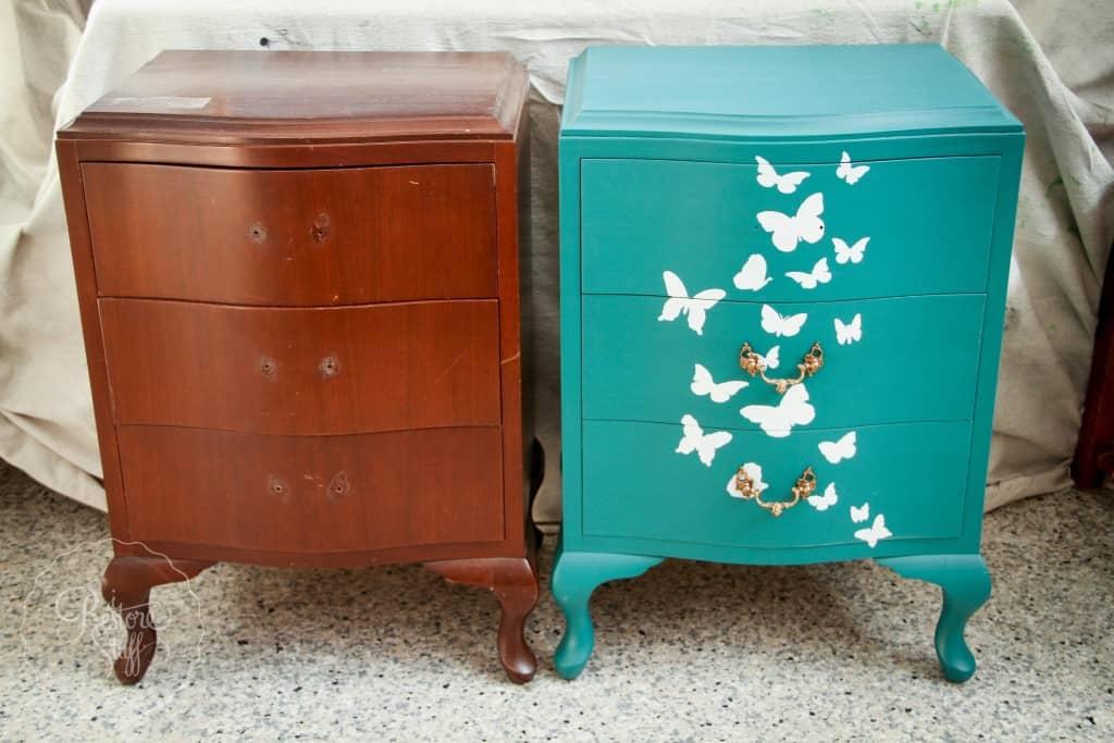 Butterfly dresser set-9243