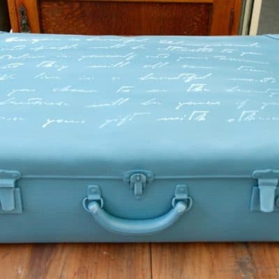 An Old Suitcase, Fusion Mineral Paint – Michael Penney Collection
