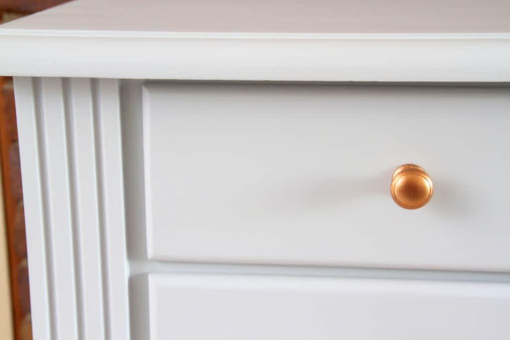 Sterling study desk copper knobs10