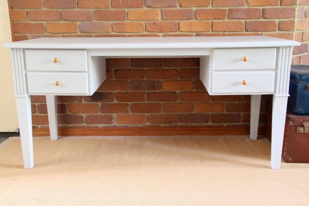 Sterling study desk copper knobs5