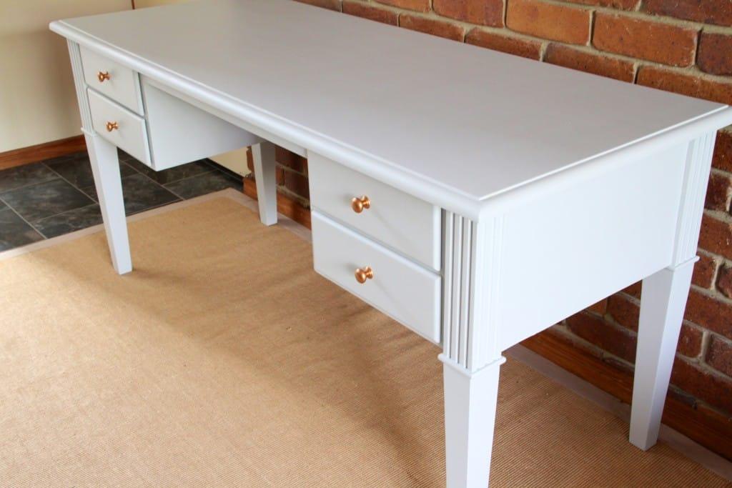 Sterling study desk copper knobs7