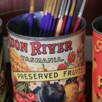 Huon River Tasmania can label