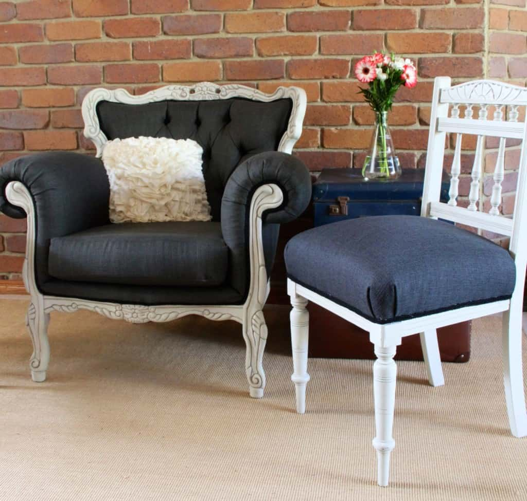 Antique chairs upholstery 218