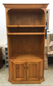Before TV cabinet