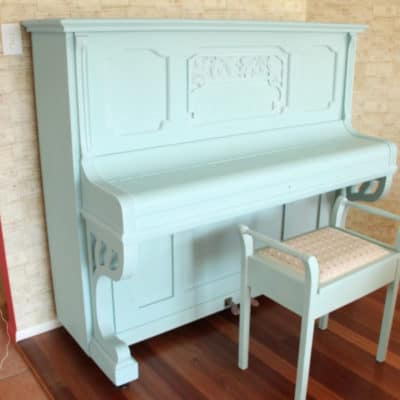 Painting a Piano with Milk Paint – Lessons Learned