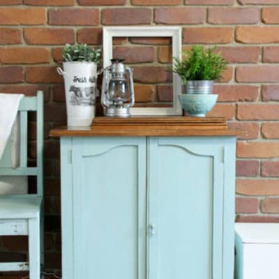 Antique Sewing Table Milk Paint Makeover – Eulalie's Sky