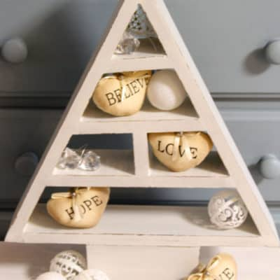 Wooden Christmas Tree from Better Homes & Gardens