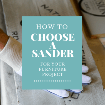 How to Choose the Best Sander for Your Furniture Project