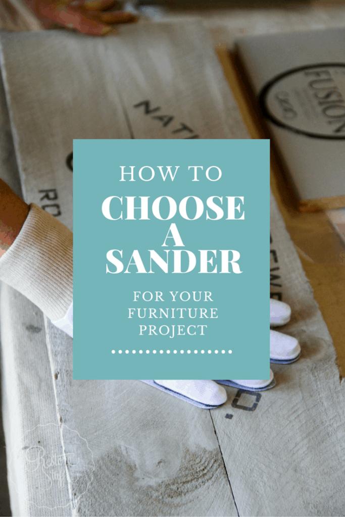 choose a sander
