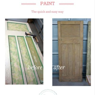How to Strip Paint the Quick and Easy Way!
