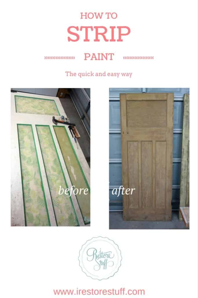 How to Strip Paint the quick and easy way