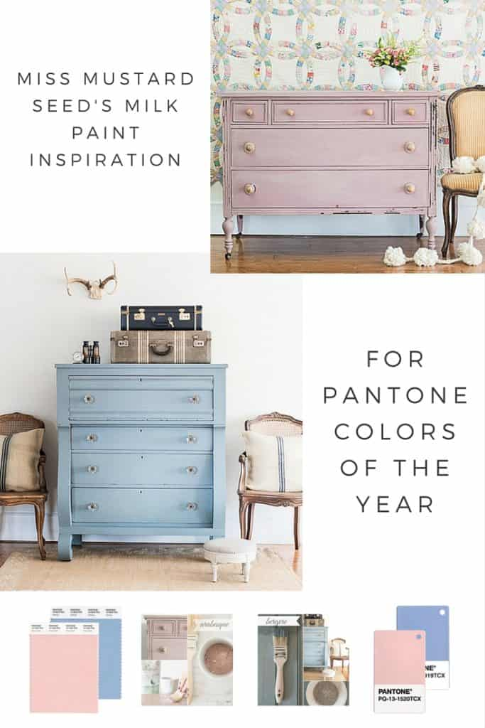 Pantone Colors of the Year 2016 MMSMP Inspiration