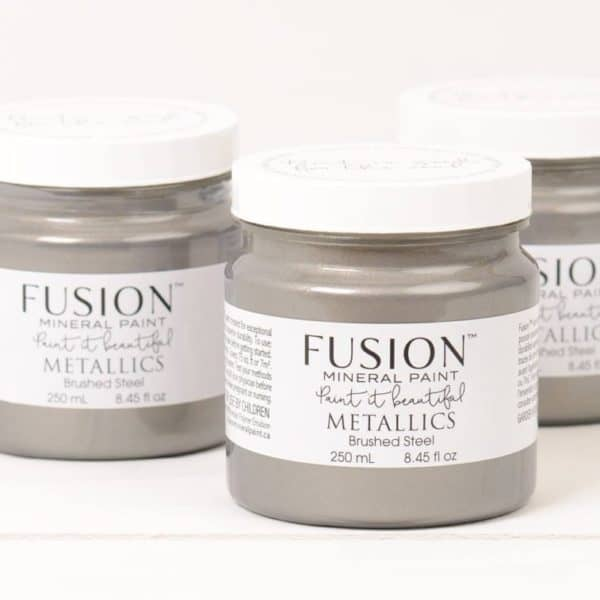 Brushed Steel Metallic paint