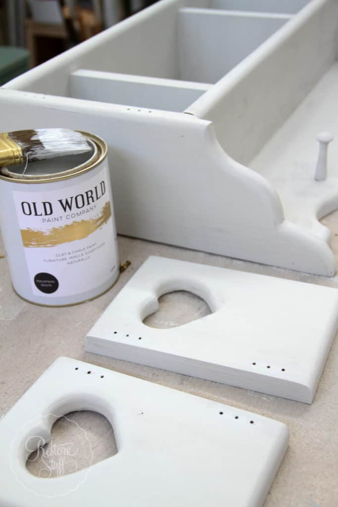 Old World Paint - Industrial White