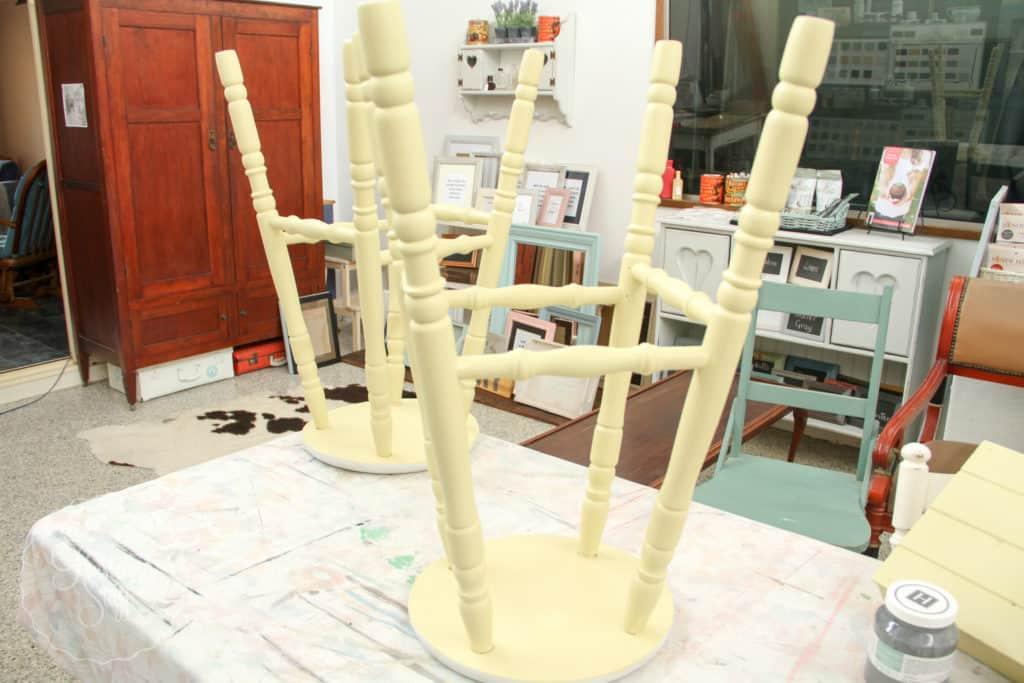 Aubusson & Soap stone stools-3727